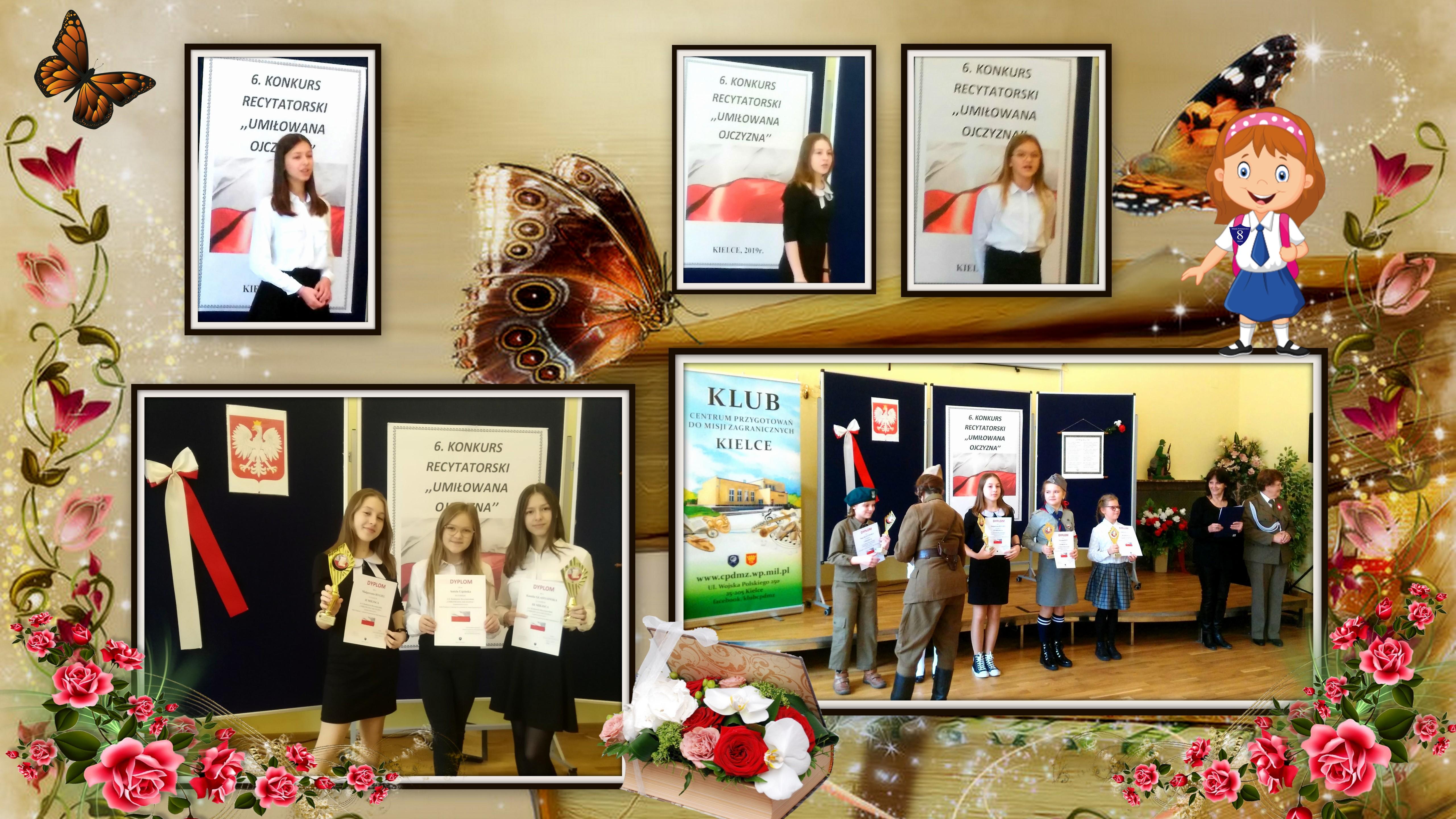 Szkoła Podstawowa Nr 8 W Kielcach Konkurs Recytatorski